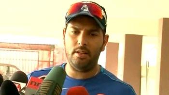 Video : Yuvi starts training at National Cricket Academy