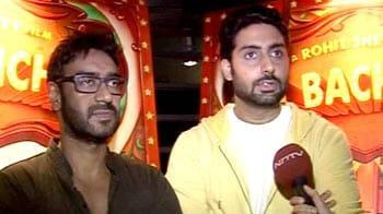 Video : <i>Bol Bachchan</i> with Ajay and Abhishek