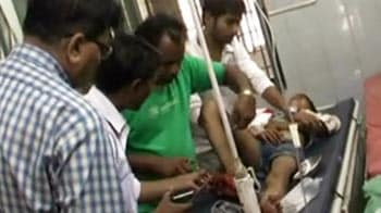 Video : Sweeper gives patient stitches at UP hospital; minister not surprised