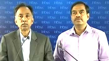 Video : Infosys lowers guidance on global uncertainties