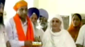 Video : Ex-minister Bibi Jagir Kaur, in prison, serves as chief guest