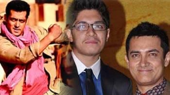 Aamir's son Junaid set for Bollywood, Ek Tha Tiger continues to roar