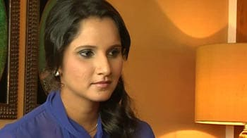 Video : Sania Mirza's 'T20' debut