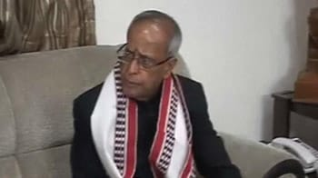 Video : It's Official. Pranab Mukherjee to be 13th President of India