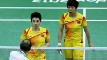 Video : London 2012: Eight shuttlers disqualified for underperforming