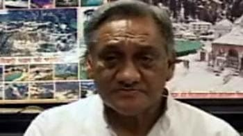 Video : Uttarkashi flood: Will approach PM for more aid, says Vijay Bahuguna
