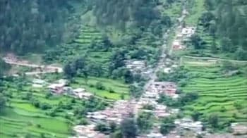 Video : Aerial shots of flooded Uttarakhand from rescue chopper