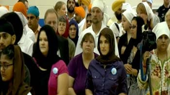 Video : Thousands honour victims of US gurudwara shooting