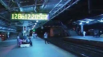 Video : Three people run over by train in Mumbai, killed