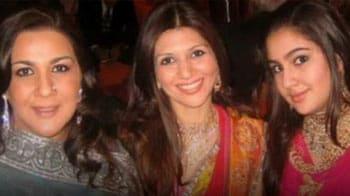 Video : Saif-Amrita's daughter Sara not ready for Bollywood yet