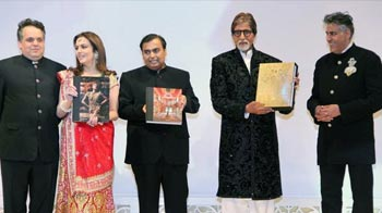 At Ambani home, past, present and future stars