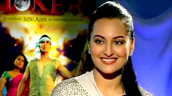 Video : The title <i>Joker</i> is cryptic: Sonakshi