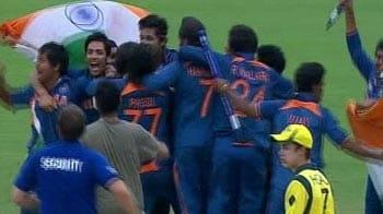 Video : India win Under-19 World Cup, skipper Unmukt Chand decimates Australia