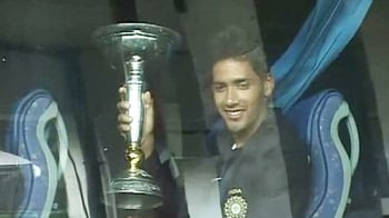 Video : Jubilant reception for U-19 World Cup winning Indian side