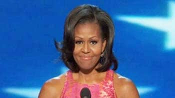 Video : Michelle tells US voters why Barack Obama should be re-elected