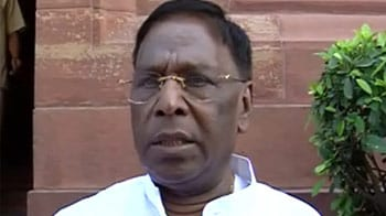 Video : Expected this kind of trouble: Narayanasamy on Rajya Sabha scuffle