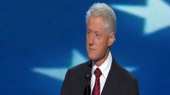 Video : Bill Clinton endorses Barack Obama, says he can build new economy