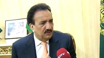 Video : Will try and send Sarabjit home as soon as possible: Rehman Malik to NDTV