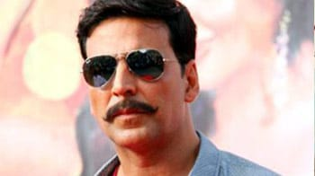Akshay Kumar's double act!