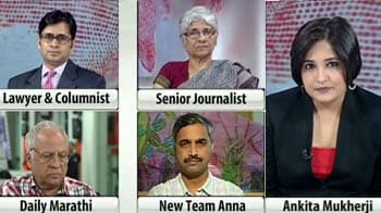 Video : Now Team Anna 2.0: Is Anna Hazare hedging his bets?