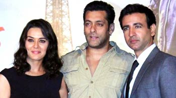 Salman launches the music of Preity Zinta's Ishkq in Paris