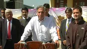 Video : Rahul Gandhi has opened not a window, but a door for us: Ratan Tata