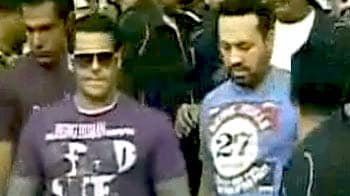 Video : ITBP हाफ मैराथन में पहुंचे सलमान खान