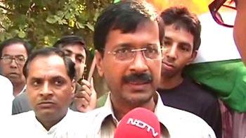 Video : Charges against Khurshids based on UP govt inquiry: Arvind Kejriwal