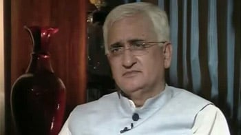 Video : I have shown documents that prove camps did exist: Salman Khurshid to NDTV