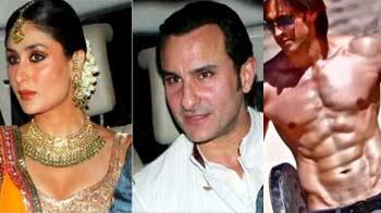 Video : Saifeena <i>sangeet</i> ends Kapoor family feud, Hrithik's look in <i>Krrish 3</i> revealed