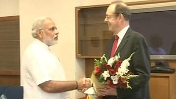 Video : UK's cold shoulder melts as British envoy meets Narendra Modi