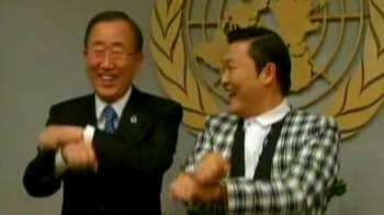 Video : When Ban Ki-moon tried 'Gangnam Style'