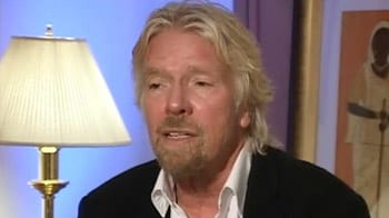 Video : Displaying too much wealth is dangerous: Richard Branson to NDTV