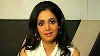 Video : Sridevi suffers from an injury
