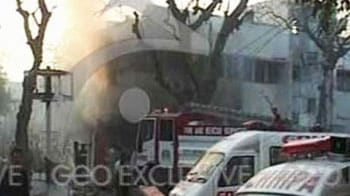 Video : One killed, 13 injured in Karachi blast