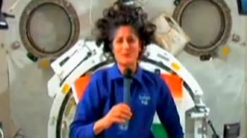 Video : Sunita Williams sends Diwali wishes from space