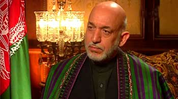 Video : India a great security training ground: Hamid Karzai to NDTV