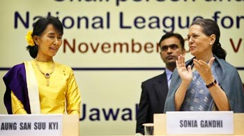 Video : I was saddened at India moving away in most difficult days: Aung San Suu Kyi