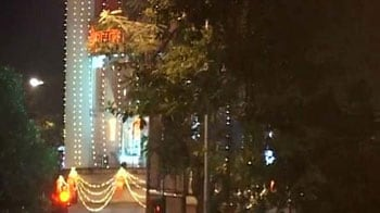 Video : With Bal Thackeray better, Shiv Sena headquarters are lit up