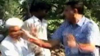 Video : Raj Thackeray upset over video of party worker slapping elderly man