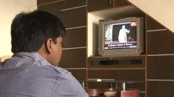 Video : In Gujarat, NaMo TV markets the chief minister 24x7