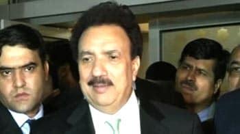 Video : Pakistan has no love lost for Hafiz Saeed: Rehman Malik