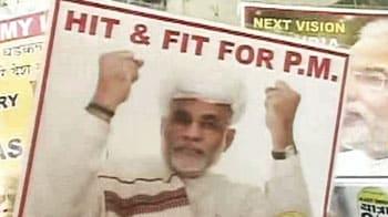 Video : Narendra Modi's supporters celebrate win