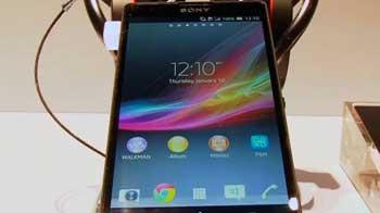 Video : Sony's big splash at CES 2013