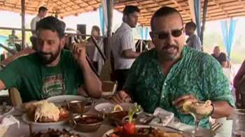 Video : Sun, sand, sea and food in Goa