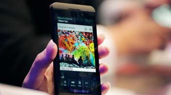Video : BlackBerry 10 launch