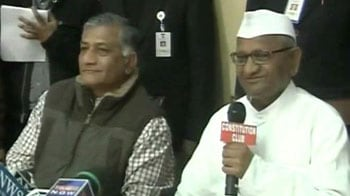 Video : Government has betrayed us: Anna Hazare rejects Lokpal Bill