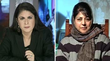 Video : Wrong perception being created about Kashmir: Mehbooba Mufti