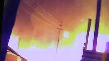 Video : Fire at Kumbh kills one, several tents gutted