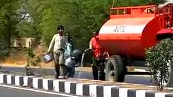 Video : In drought-hit Maharashtra, women beg for water on roads